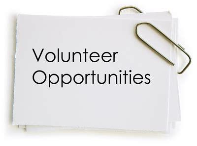 Resume example with volunteering work